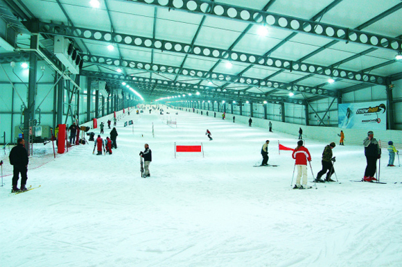 comment nous avons assur la 1re piste de ski indoor de france